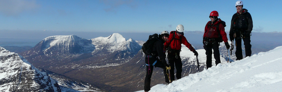 5 High on a Torridon summit Feb 2010