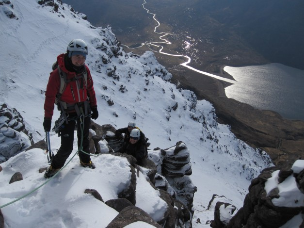 Mountaineering An Teallach