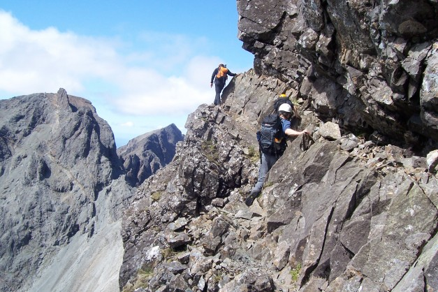 1 Traverse of Collies Ledge Sgurr Mhic Coinnich