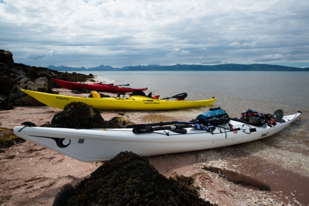 Scotlands' Wilderness Sea kayaking - Rona and Rassay expedition